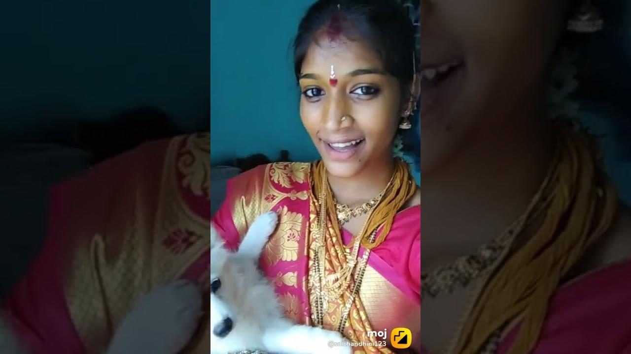 Saichandini tiktok videos popular videos marriage videos(2)