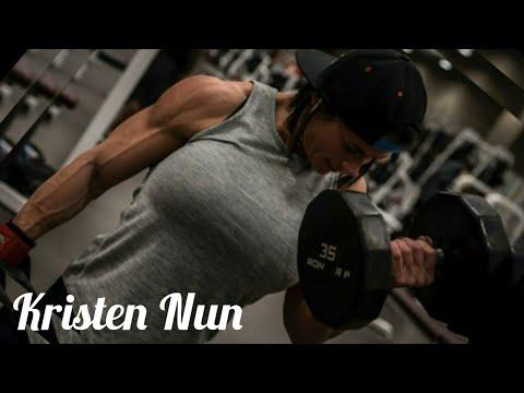 Kristen Nun | Muscle Woman | Female Bodybuilder | Fitness Model | Bodybuilding Motivation | FBB IFBB