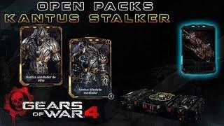 "Gears of War 4 l Open Packs l Inquisidor Kantus Stalker "" Como tú "" l ¿ Me salieron ? l 1080p Hd"