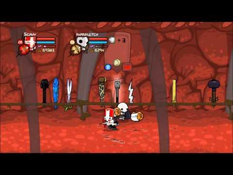 Castle Crashers - Sword Glitch Tutorial
