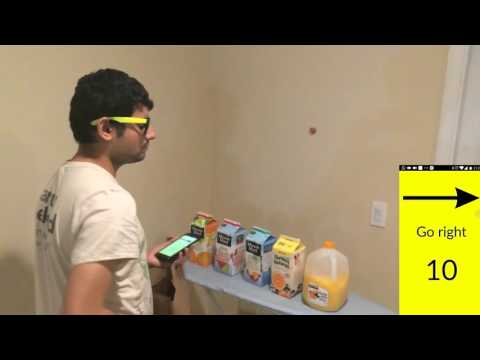 Beacons For Blind : Supermarket Navigation System