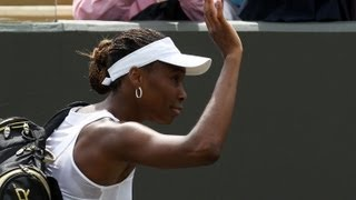 Venus LOSES 1st Round Wimbledon