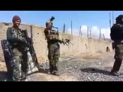 Afghan special forces training