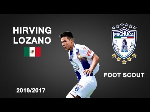 HIRVING LOZANO | Pachuca | Goals, Skills, Assists | 2016/2017 (HD)