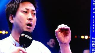 Naoyuki Oi Gives Bizarre Interview At World Pool Masters