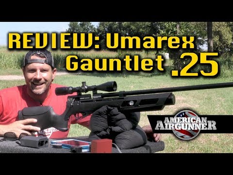 Umarex Gauntlet  25 Air Gun Hunting Rifle Review : American