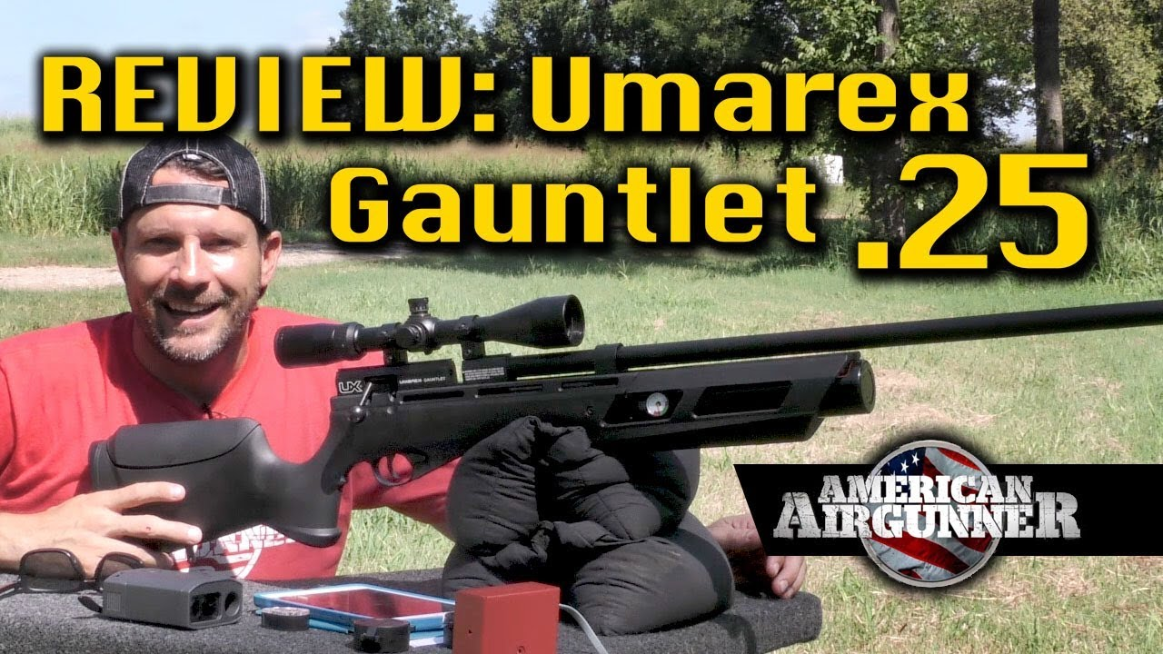 Umarex Gauntlet  25 Air Gun Hunting Rifle Review : American Airgunner