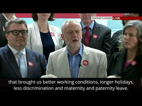 Jeremy Corbyn - BBC - The labour movement comes together
