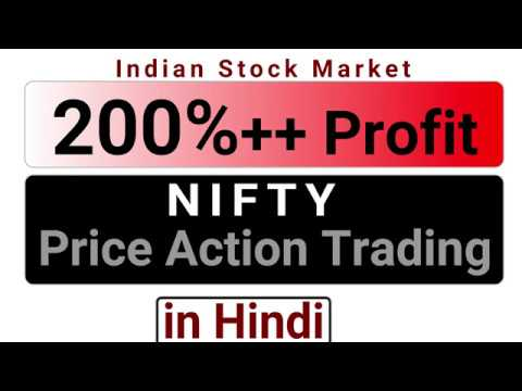 200%+ PROFIT in NIFTY Trading with Price Action Trading - Indian Share Market