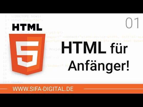 HTML Grundkurs: Das Wirst Du Lernen! #01 (4K)   SIFA Digital