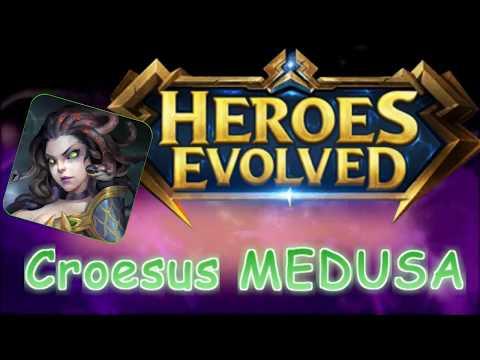 Heroes Evolved : Croesus Medusa