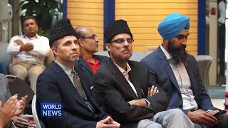 Canada Ahmadi Muslims in interfaith event after Eid