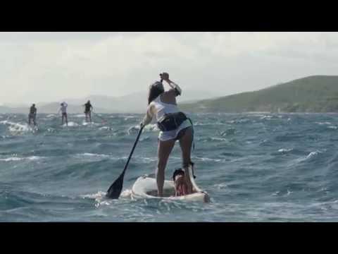 Paddling in New Caledonia