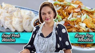 [Judy Ann's Kitchen 17] Ep 4: Fried Pork Wanton and Kung Pao Noodles