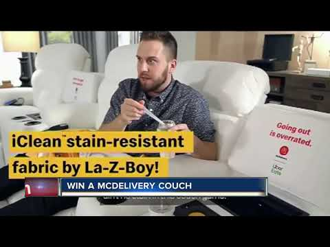 None - La-Z-Boy Has Made A Couch With A Built-In McFlurry Chiller