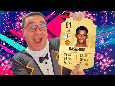 RASHFORD À ESQUERDA SERÁ MONSTRO?   FIFA 19 FUT #12