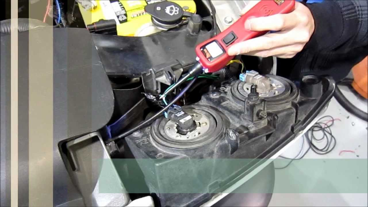High Beam Headlight Relay Upgrade  GM Truck   YouTube