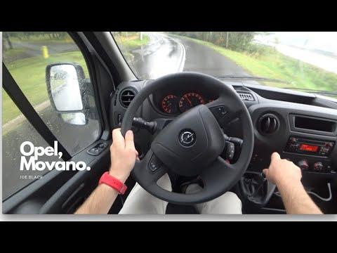 Opel Movano 2 3 Cdti 130 Hp 4k Pov Test Drive 105 Joe Black Youtube