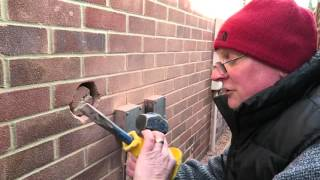 How to install a tumble dryer vent