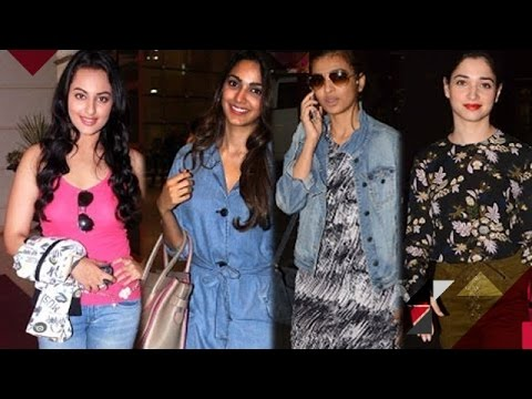 Sonakshi Sinha Supports Girl Cause |...