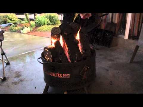 Portable Metal Fire Pit - Propane or Natural Gas -- It's The Roady !
