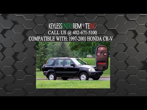 How To Replace Honda CR V Key Fob Battery 1997 1998 1999 2000 2001