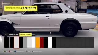 Forza Horizon 2 painting tutorial fender/hood