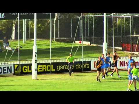 Glenelg's Matt Allen kicks 6 v Sturt U18, April 2015