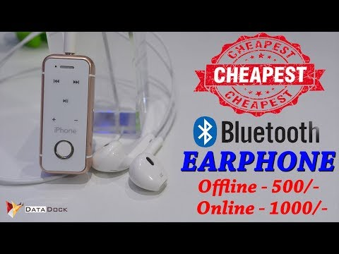 Best Budget Bluetooth Headphone | Stereo Bluetooth Headset with Mic | Data Dock