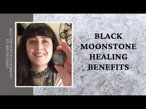 Healing with Black Moonstone - YouTube