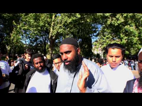 Speakers Corner - Atheist talking to Muslim - Creation of the universe & morality