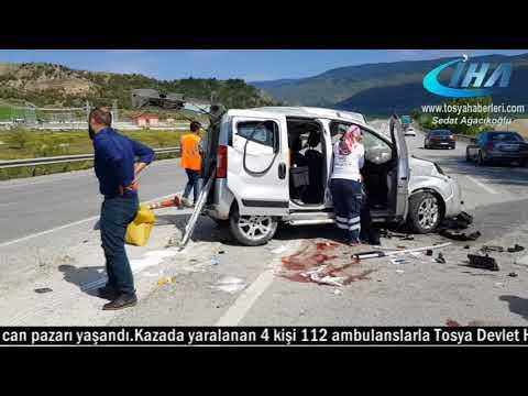 Tosya D 100 Karayolunda Trafik Kazasında...