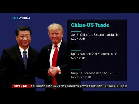 China reports record trade surplus with US