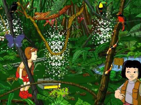 Cartoon City 3d Live Wallpaper The Magic School Bus Explores The Rainforest Fair Use