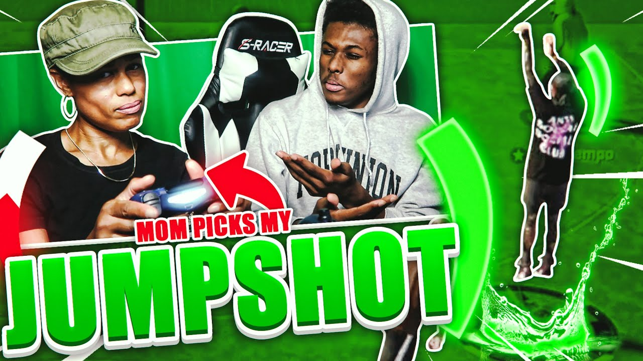 I LET MY MOM PICK MY JUMPSHOT… I GREENED EVERYTHING! NEW BEST JUMPSHOT ON NBA 2K20!