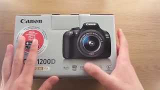 Canon 1200D (Rebel T5) - Unboxing!