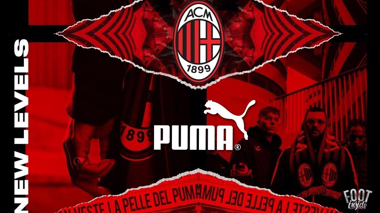 Puma nouvel équipementier du Milan AC en 2018