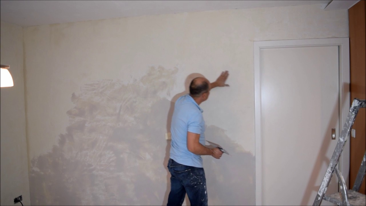 Wand Verspachteln
