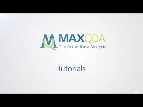 [2011] MAXQDA 10 und MAXQDA 11: Codes erstellenиз YouTube · Длительность: 2 мин37 с