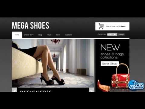Download Mega Shoes VirtueMart Template By  Delta TM