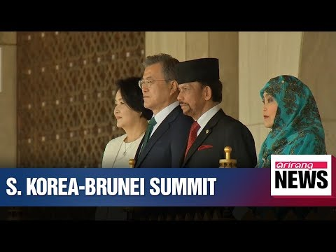 Leaders of Korea-Brunei agree on creating synergy effect of