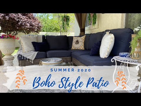 patio-decorating-ideas-|-2020-summer-boho-style-patio-makeover-|-outdoor-refresh-|-decorate-with-me