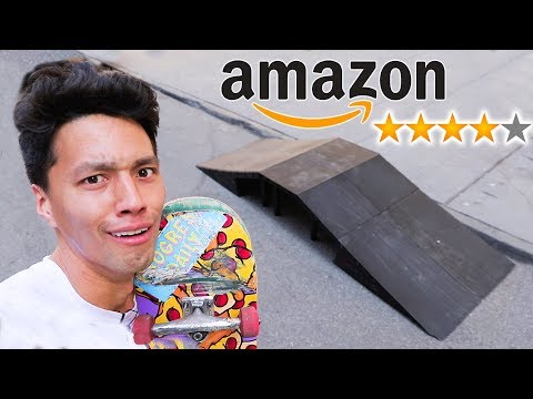 I BOUGHT A SKATEPARK FROM AMAZON!!