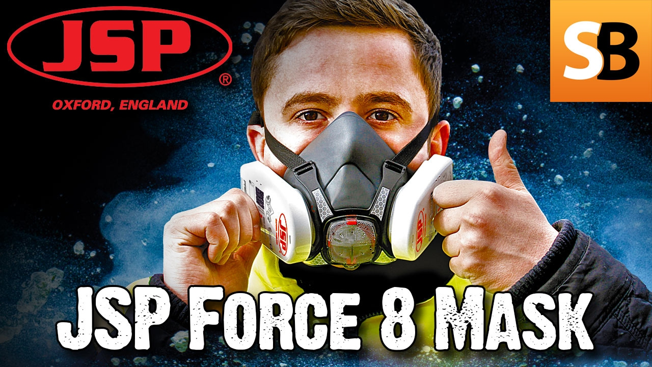 Avoid Inhaling Lethal Dust, with the JSP Force 8 Mask