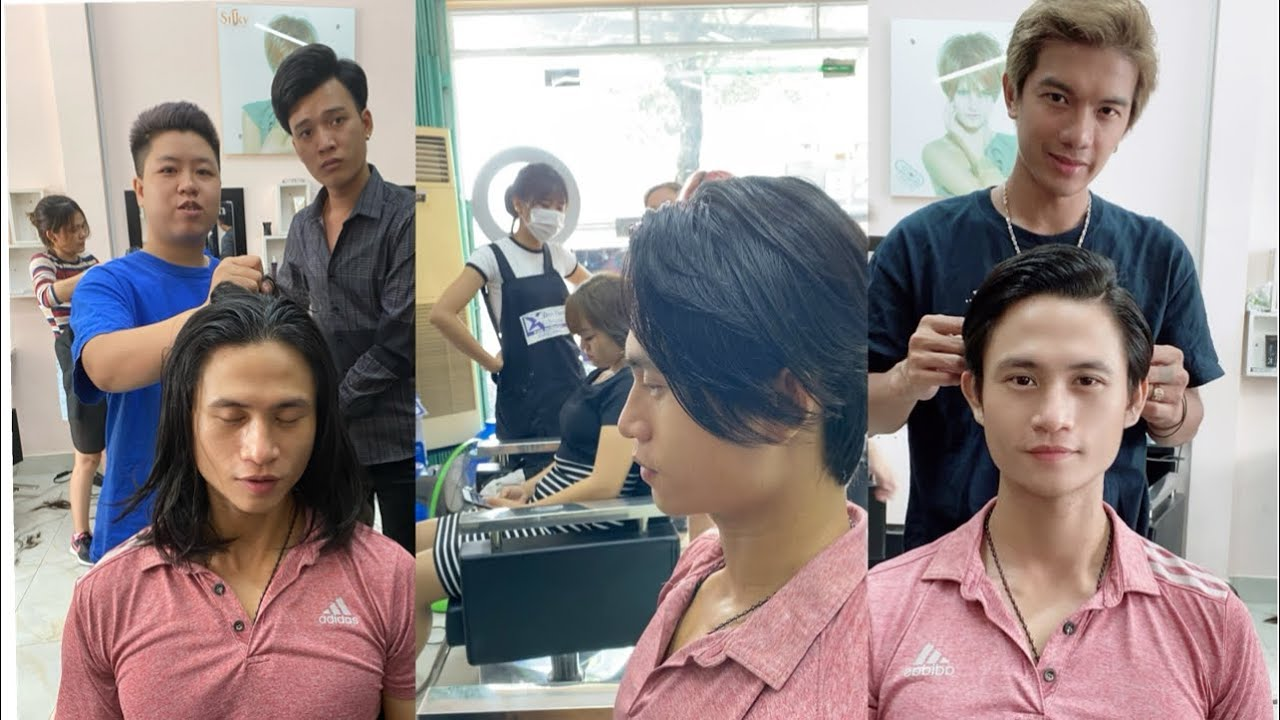 Hướng dẫn cắt tóc nam sole kiểu soái ca chân phương | hùng đông tinh | Tổng hợp những kiểu tóc nữ đẹp mới nhất
