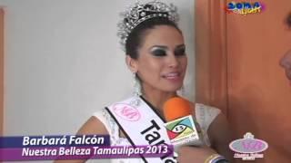 Barbara Falcon Nuestra Belleza Tamaulipas 2013