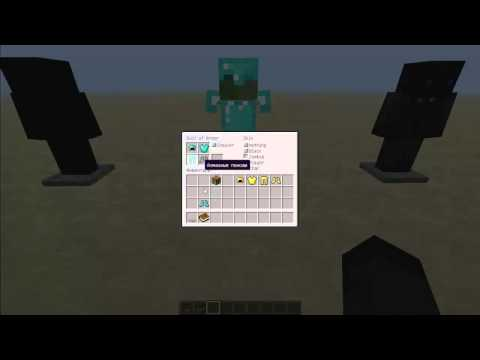 how to make a mini armor stand on minecraft realms