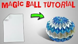 ORIGAMI MAGIC BALL TUTORIAL: PART 1