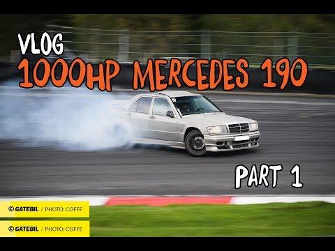 Building 1000hp Mercedes 190E Vlog #001