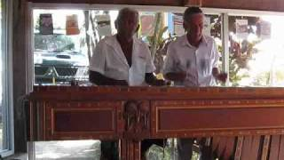 Costa Rican Xylophone players near Bahia